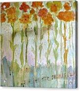 Waltz Of The Flowers Acrylic Print