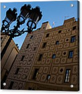 Wandering Around The Streets Of Barcelona Spain Acrylic Print