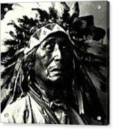 Wanduta Lakota Sioux Acrylic Print
