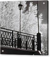 Wangaratta Footbridge Acrylic Print