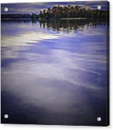 Wanigan View Of Au Sable River Acrylic Print