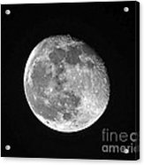 Waning Pink Moon Acrylic Print by Al Powell Photography USA