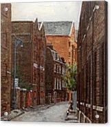 Wapping High Street East London Acrylic Print