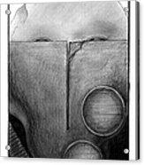 War Mask_009 Acrylic Print