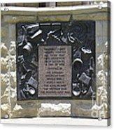 War Memorial  Acrylic Print