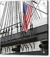 War Ship Acrylic Print