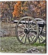 War Thunder - 4th New York Independent Battery Crawford Avenue Gettysburg Acrylic Print