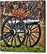 War Thunder - The Morris Artillery Page's Battery Oak Hill Gettysburg Acrylic Print