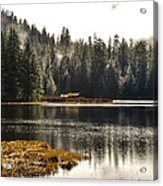 Ward Lake Shack Acrylic Print