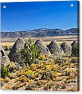 Wards Charcoal Ovens View Acrylic Print