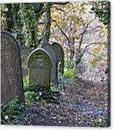 Wardsend Cemetery Acrylic Print