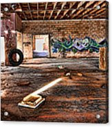 Warehouse Acrylic Print