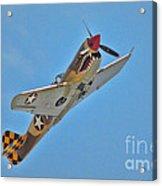 Warhawk Fighter Acrylic Print