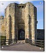 Warkworth Castle Gate House Acrylic Print