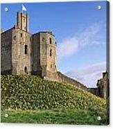 Warkworth Castle In Spring Acrylic Print