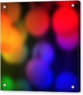 Warm Colors Acrylic Print