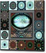 Warm Cosmos Redux Acrylic Print
