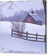 Warm In Winter Acrylic Print