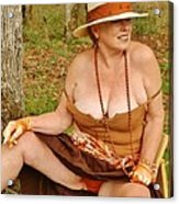 Warm October Acrylic Print