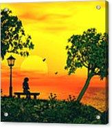 Warm Sunset Acrylic Print