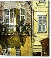 Warmth Of Old Villefranche Acrylic Print