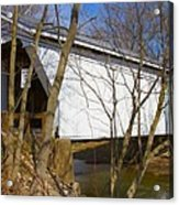 Warnke Covered Bridge  Acrylic Print