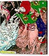 Warrior Tada No Manchu 1880 Acrylic Print