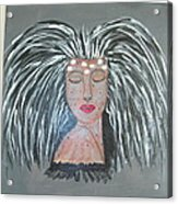 Warrior Woman #2 Acrylic Print