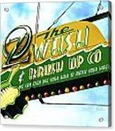 Wash And Brush Up Co. Acrylic Print