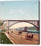 Washington Bridge 1901 Acrylic Print