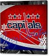 Washington Capitals Christmas Acrylic Print