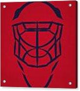 Washington Capitals Goalie Mask Acrylic Print