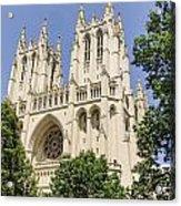 Washington Cathedral 5 Acrylic Print