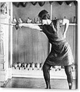 Washington Champion Fencer Acrylic Print