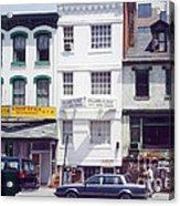 Washington Chinatown In The 1980s Acrylic Print