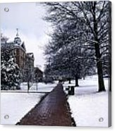 Washington College Acrylic Print