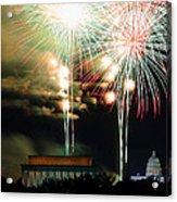 Washington Dc 4th Of July 2013 Acrylic Print