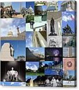 Washington D. C. Collage 3 Acrylic Print