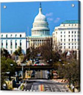 Washington D.c. - Elevated View Acrylic Print