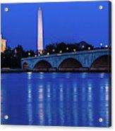 Washington D.c. - Memorial Bridge Acrylic Print