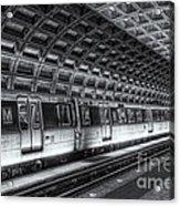 Washington Dc Metro Station Vi Acrylic Print