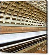 Washington Dc Metro Station Vii Acrylic Print
