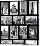 Washington Dc Poster Acrylic Print