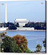 Washington Dc Skyline Acrylic Print