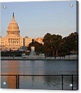 Washington Dc - Us Capitol - 011312 Acrylic Print by DC Photographer