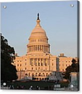 Washington Dc - Us Capitol - 011313 Acrylic Print by DC Photographer