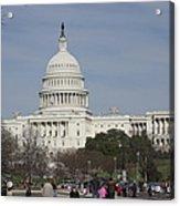 Washington Dc - Us Capitol - 01135 Acrylic Print by DC Photographer