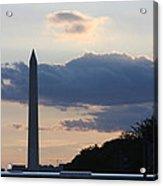 Washington Dc - Washington Monument - 01131 Acrylic Print by DC Photographer