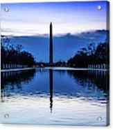 Washington D.c. - Washington Monument Acrylic Print