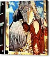 Washington In Drag Mural In Washinton Park Cincinnati Acrylic Print